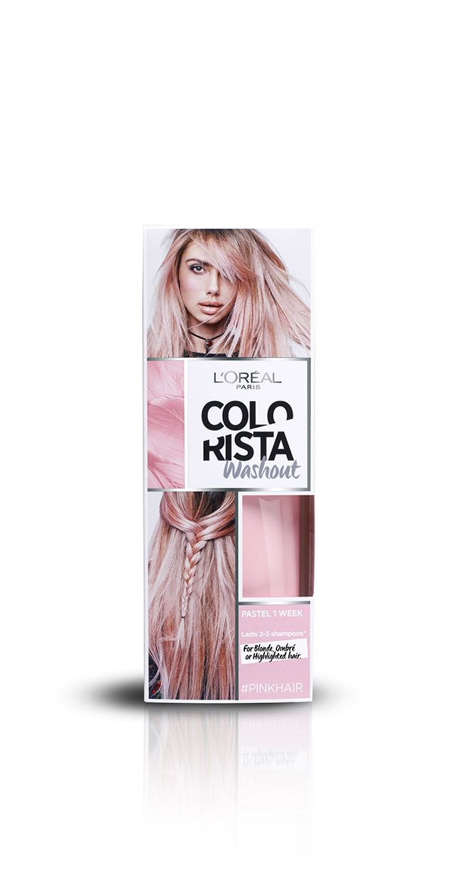To achieve the pastel hair colour of your sweetest dreams, use ...