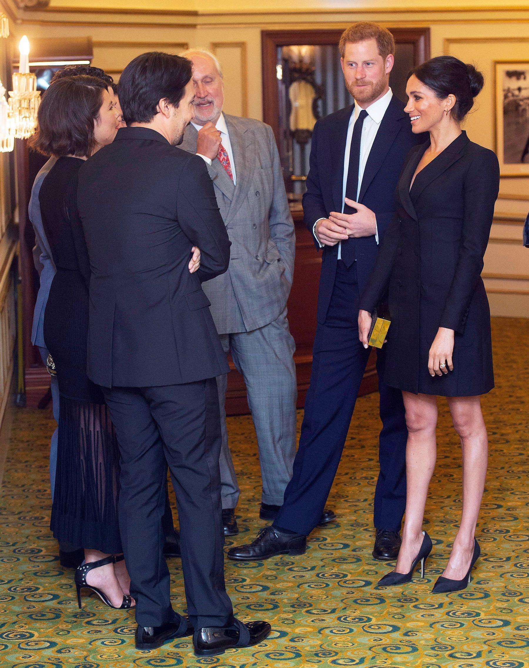75c21ba2f187 Meghan Markle and Prince Harry at Hamilton