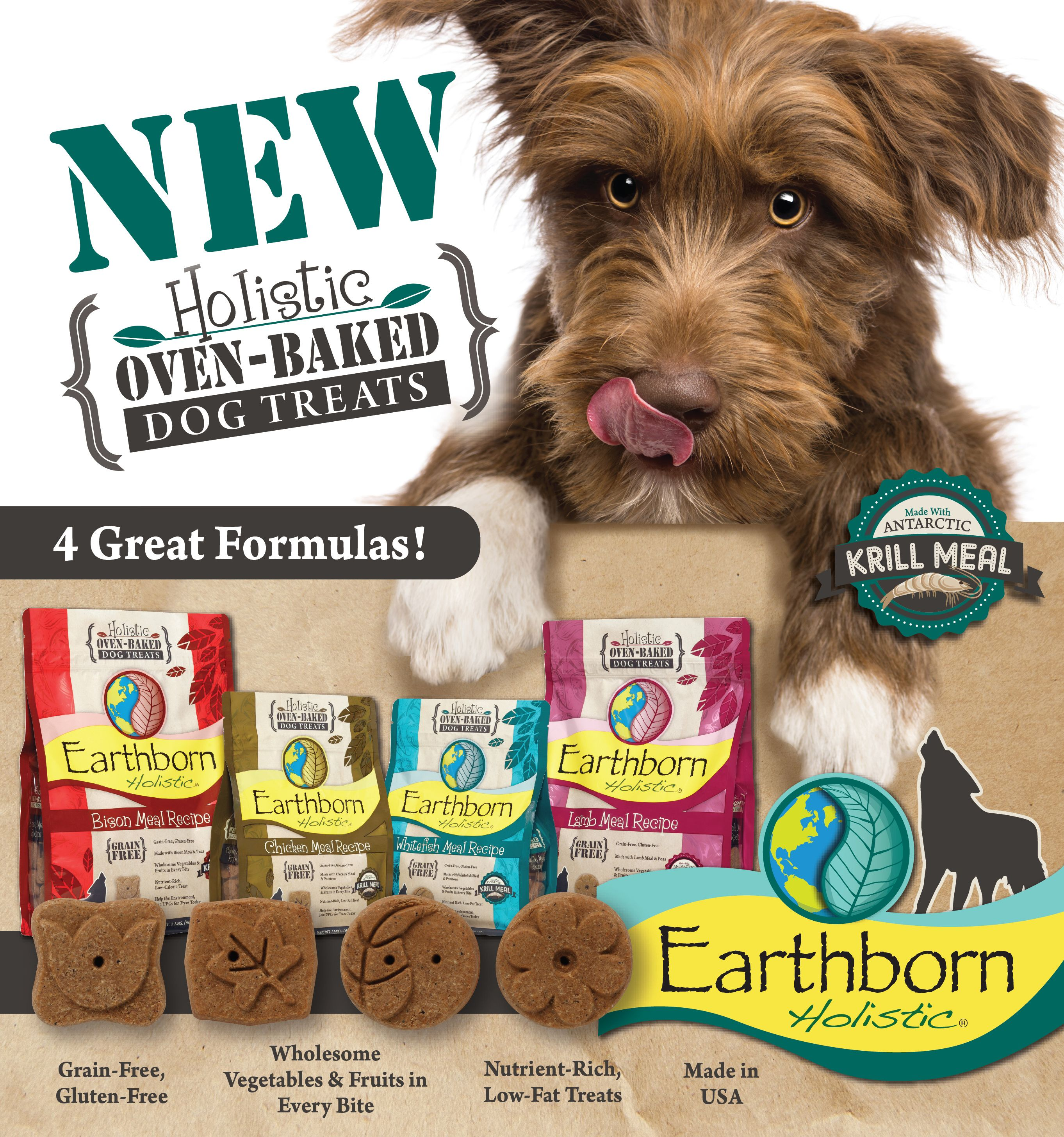 NEW...Earthborn Holistic® OvenBaked, GrainFree Dog