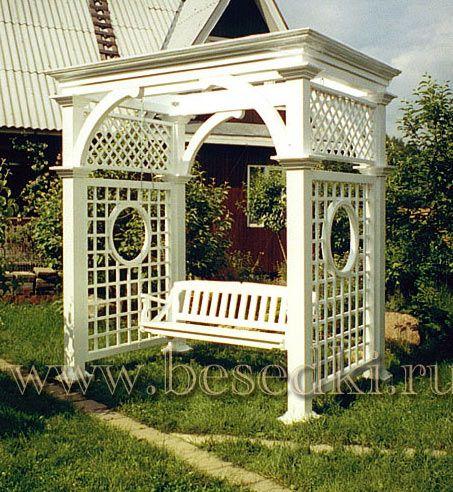 Деревянные декоративные решетки для дачи, сада, беседки ...