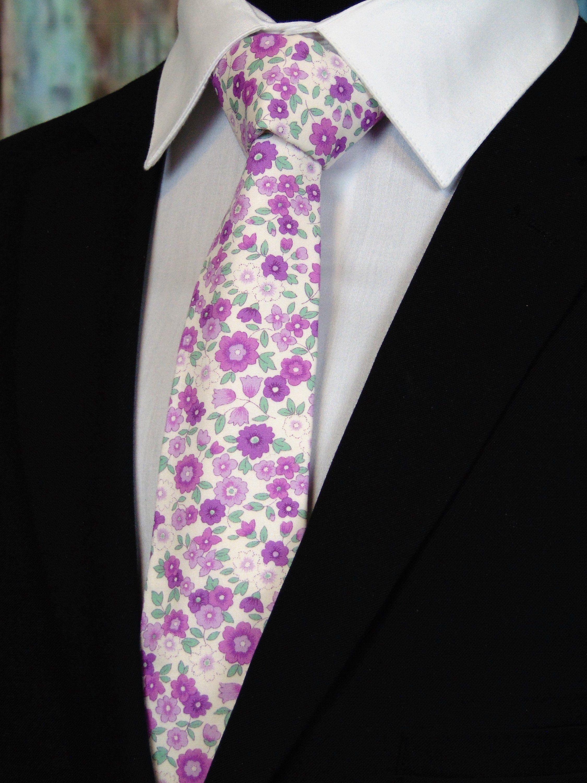 Mens Floral Necktie Mens Cotton Floral Ties For Weddings By Edsneckties On Etsy Floral Necktie Tie Neck Tie