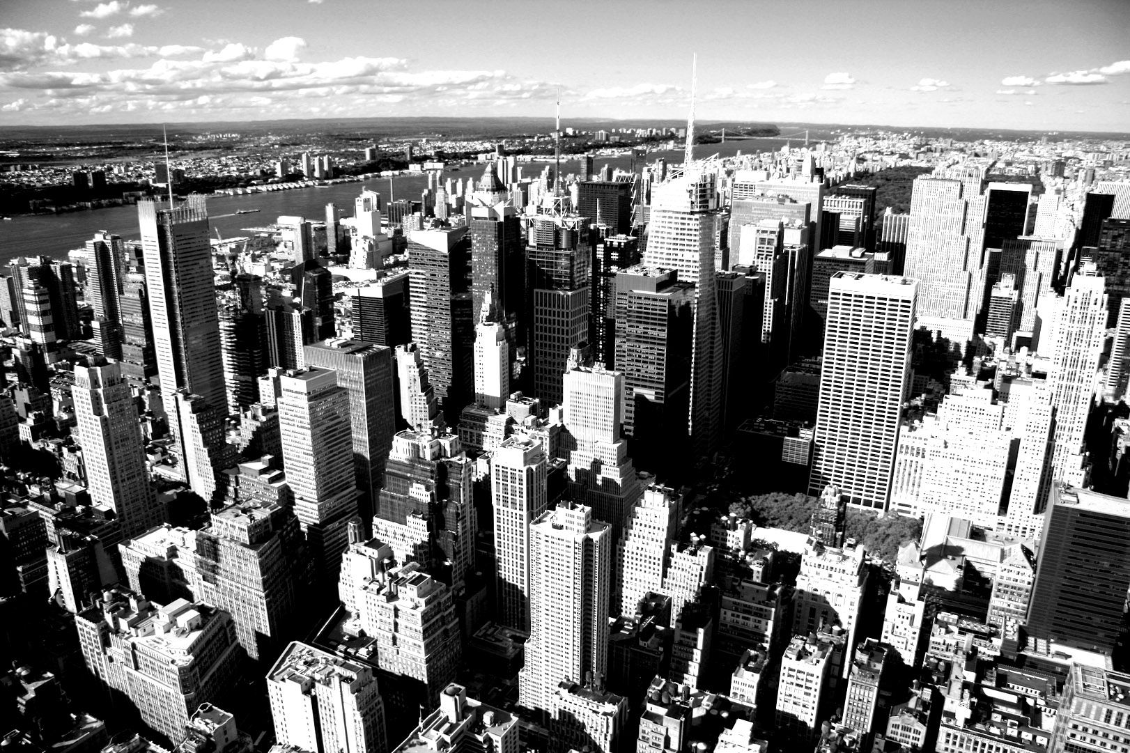 Free coloring page «coloring-new-york-vue-ciel». Aerial Photography ...