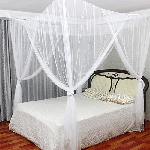 Bed Canopy Mosquito Net Bedding, Queen Size Bed Hanging Canopy