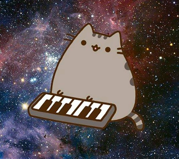 Download Pusheen Space Synth Wallpapers To Your Cell Phone Cat Pusheen Cute Pusheen Cat Cat Wallpaper