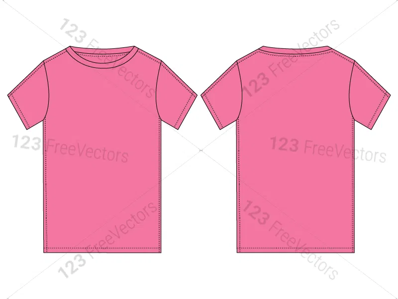 7832+ T Shirt Mockup Cdr Free Download DXF Include