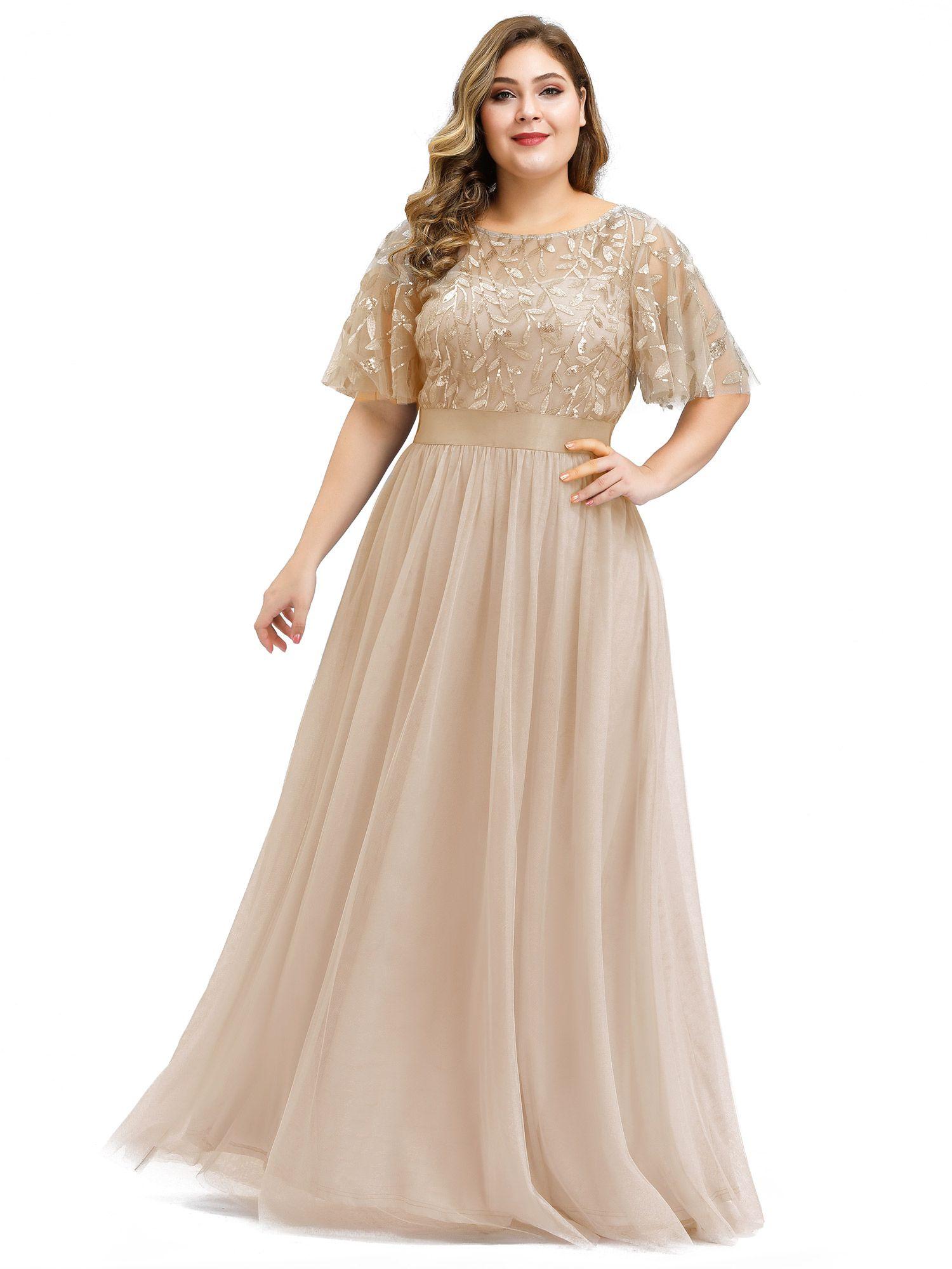 Ever Pretty Ever Pretty Womens Embroidered Wedding Party Dresses For Women 09042 Gold Us8 Walmart Com Elegant Bridesmaid Dresses Beautiful Evening Dresses Plus Size Prom Dresses [ 2000 x 1500 Pixel ]