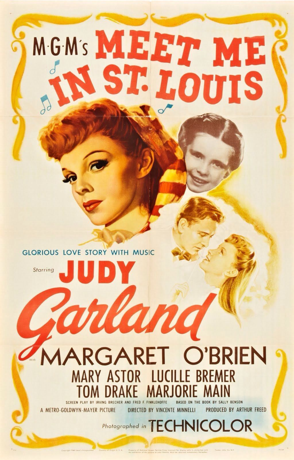 Poster from the film Meet Me In St Louis | Posters Board 3 ...