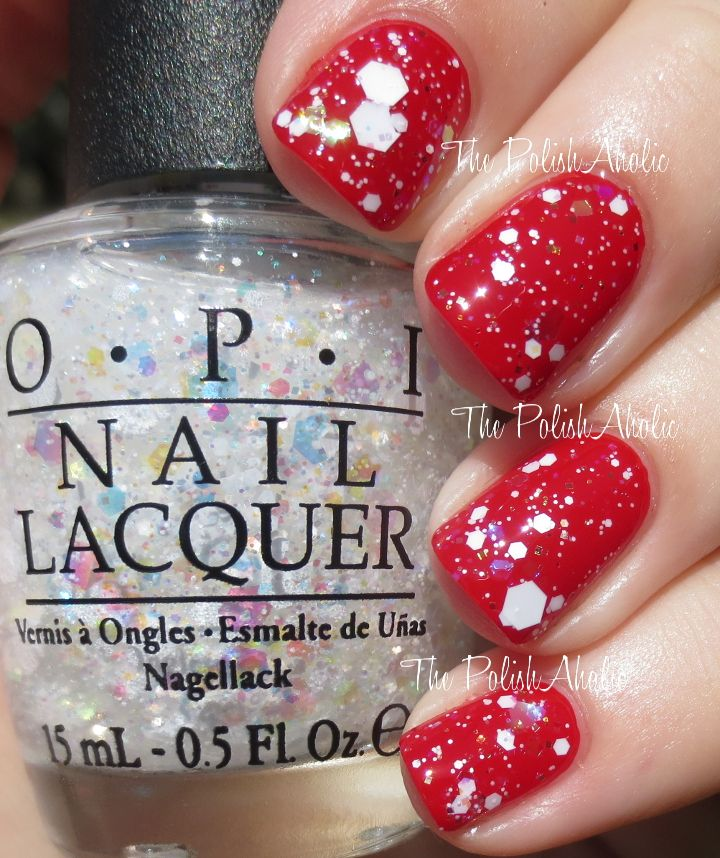 Snow Globe Trotter Over What S Your Point Settia From The Opi Holiday 2017