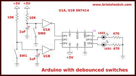 Arduino Debounce Interrupt