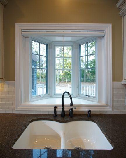 Bow Window Over Kitchen Sink Garden