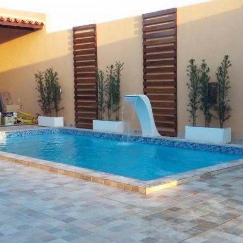 Resultado de imagem para piscina de fibra para quintal
