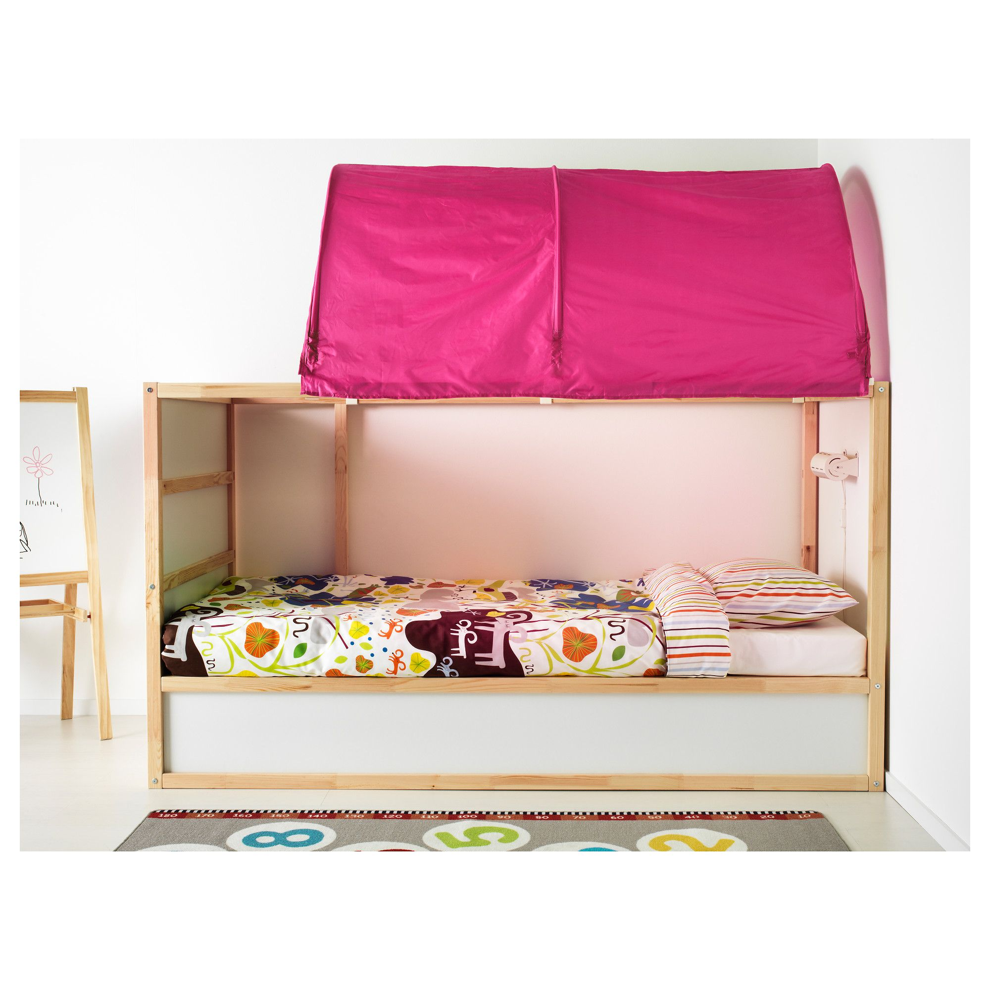 Ikea Kura Bed Tent Pink In 2019 Products Bed Tent