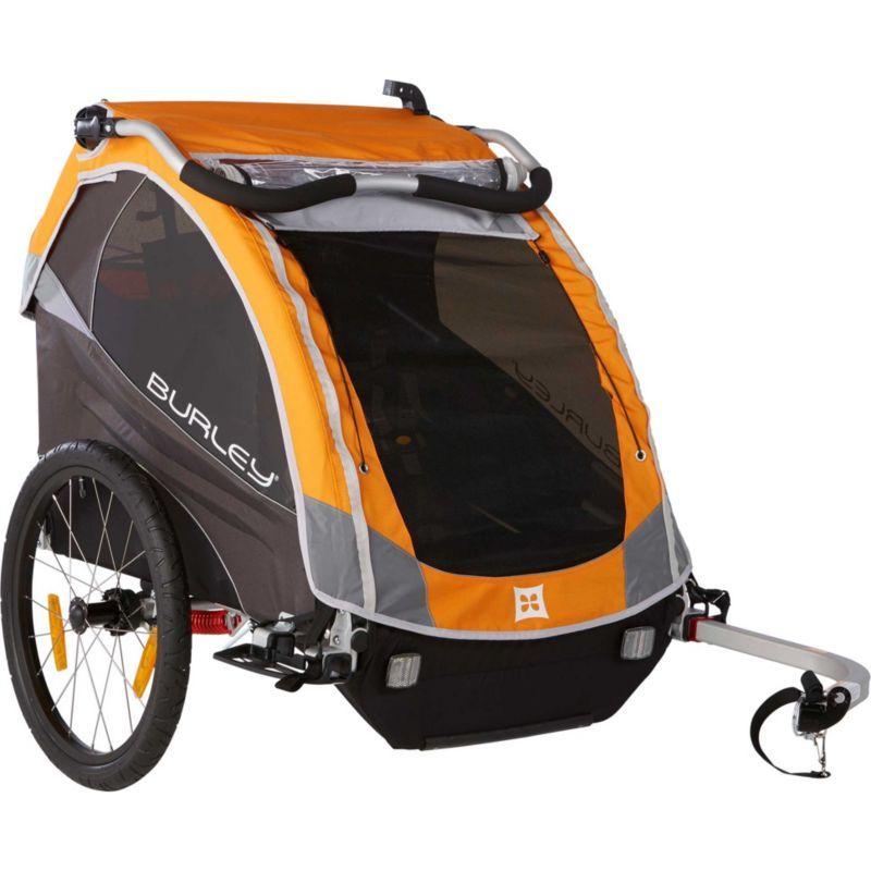 Burley D'Lite Bike Trailer, Orange (With images) Bike