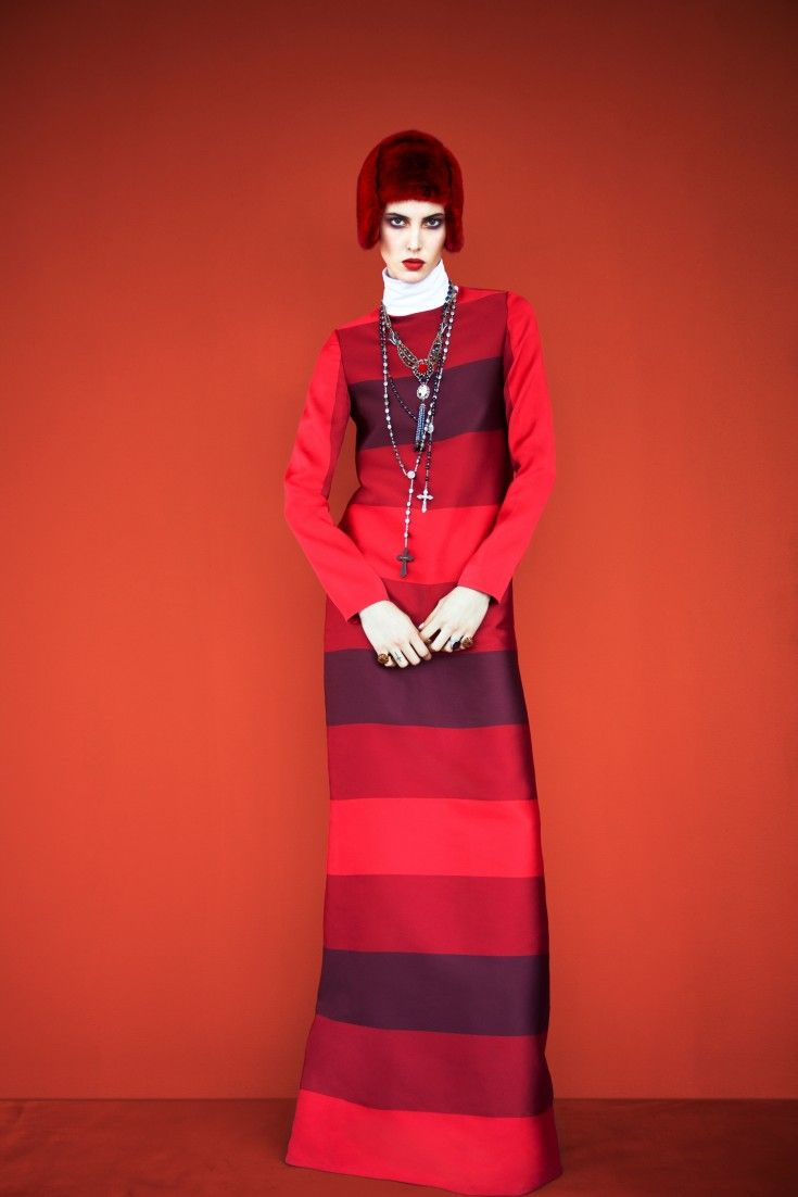Ruby Aldridge by Erik Madigan Heck (Fade To Red - Harper's Bazaar Russia November 2013).