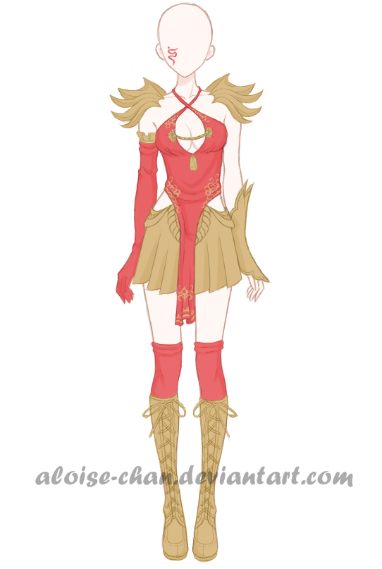 [OPEN] Chinese Warrior Armour Adoptable by Aloise-chan.deviantart.com on @DeviantArt | anime ...