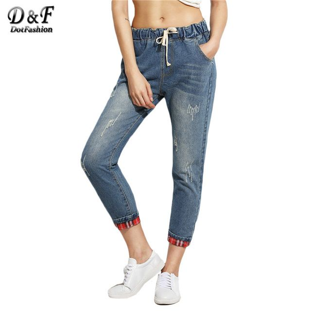 Only Detailed Pants Women Blue Shop Online Free Shipping View nmMlCCh