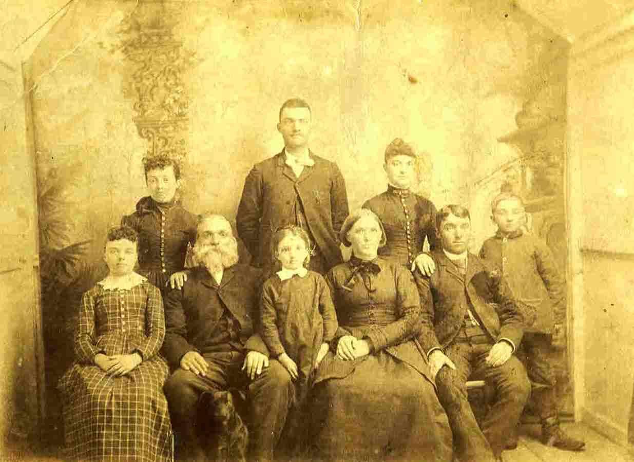 Samuel Swearingen Family, ca  1888-1890 | Swearingen Family