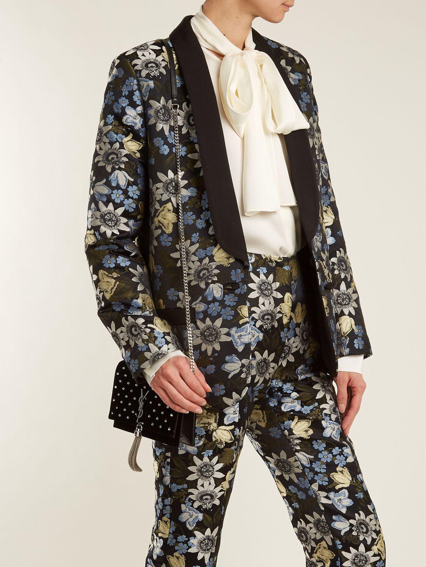 Click here to buy Erdem Anisha floral-jacquard jacket at MATCHESFASHION.COM