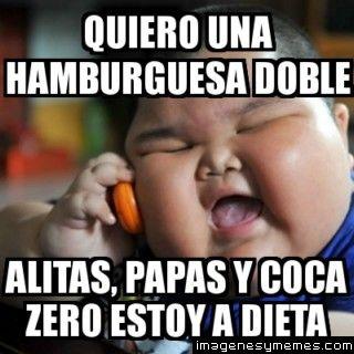 Memes coca de dieta
