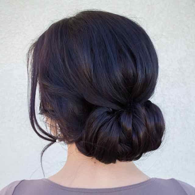 Effortlessly Chic Wedding Hairstyles | beauty | Pinterest | Wedding ...