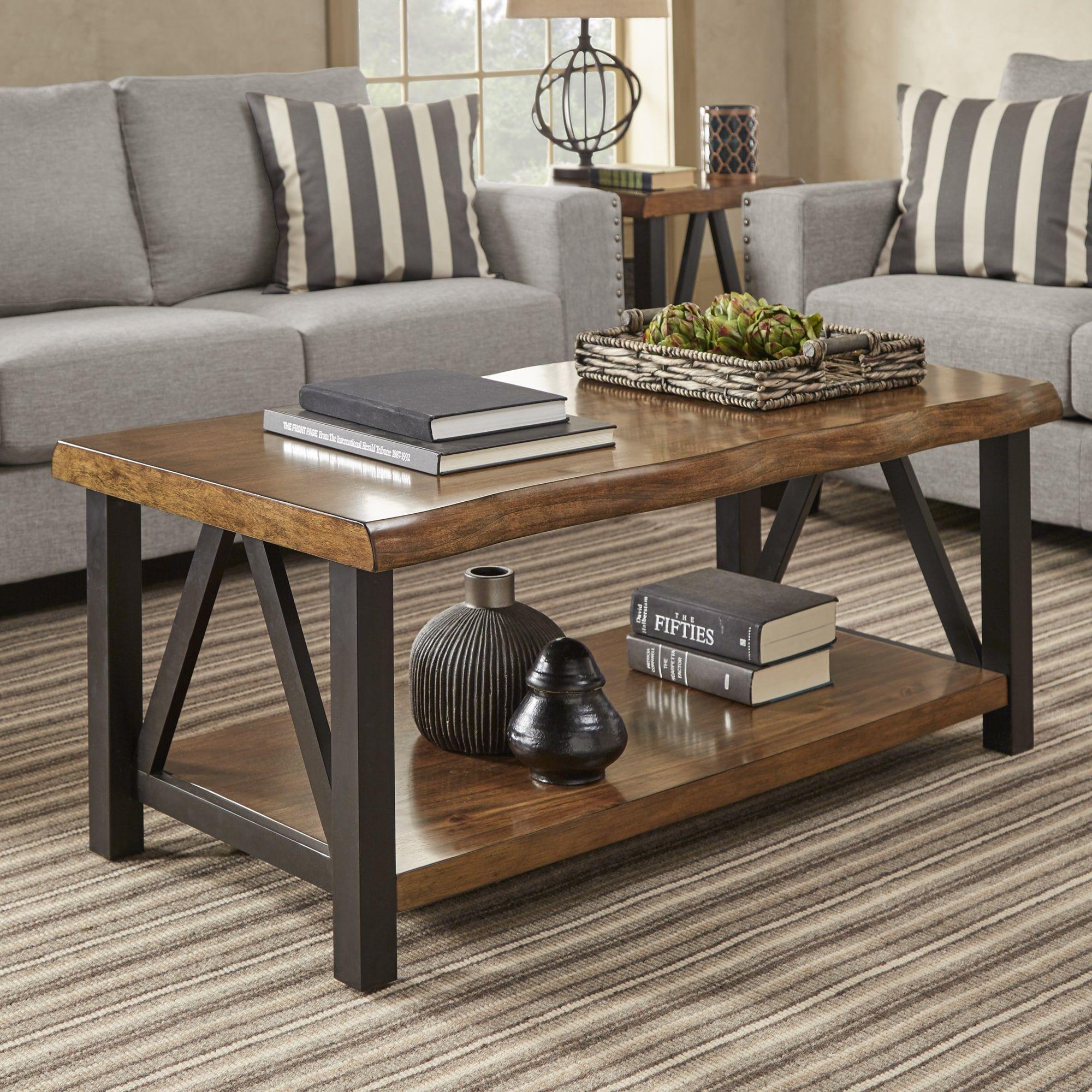 25+ Wood and metal coffee table room essentialstm ideas
