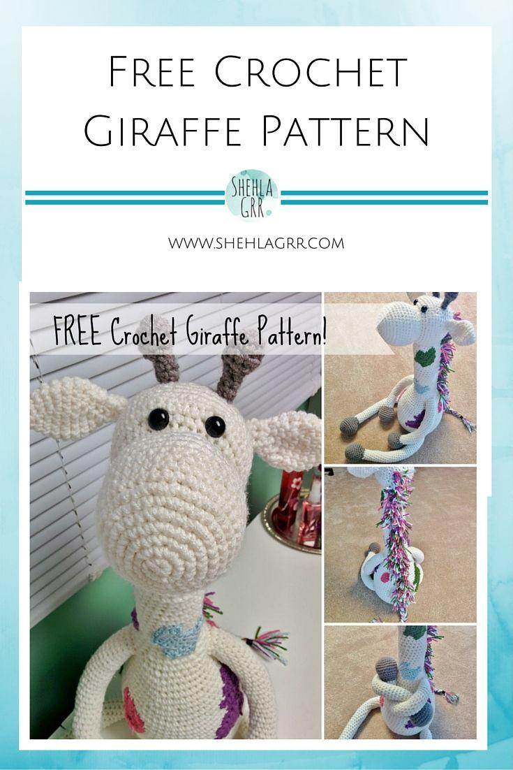 Crochet Giraffe By Shehla - Free Crochet Pattern - (shehlagrr ...