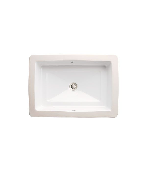 Pop Petite Rectangle Under Counter Lavatory From American Standard