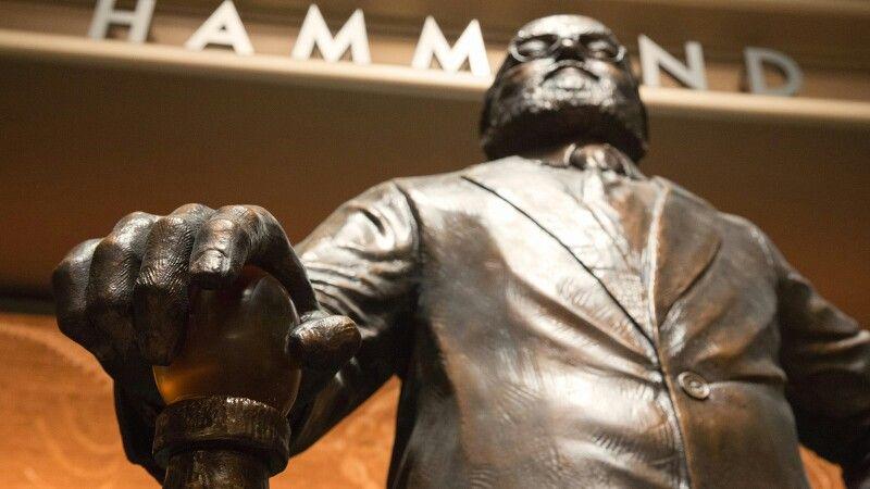 Estatua del fundador del parke original
