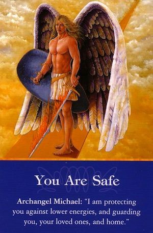 """Calling upon the angels to be your house guardians for protection and spiritual rejuvenation can bring a wonderful feeling of peace, harmony, and safety to your home. - Denise Linn, ✨ """"Sacred Space"""" ✨"""