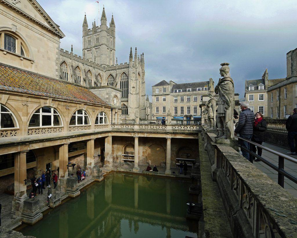 Day Trip From London To Bath Roman Baths At Bath Spa Voyage