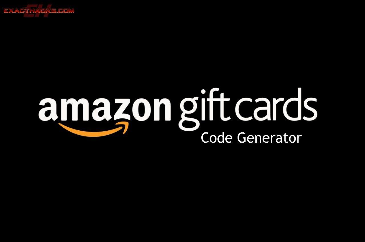 Amazon Gift Card Code Generator 2020 Gift Card Generator Gift