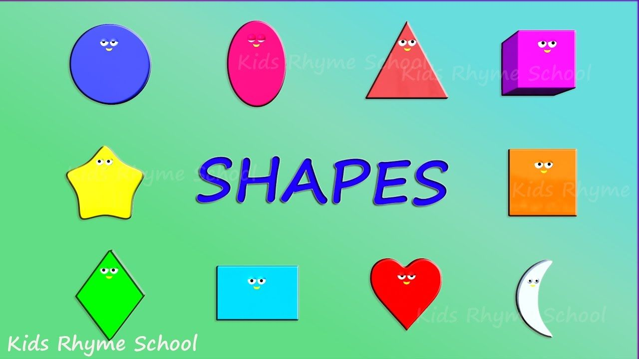 Learnshapes with #shapes train. Learn basic shapes with our ...