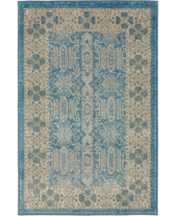 Bridgeport Home Bellmere Bel1 Light Blue 2 X 3 Area Rug Reviews Rugs Macy S Area Rugs Rugs Colorful Rugs