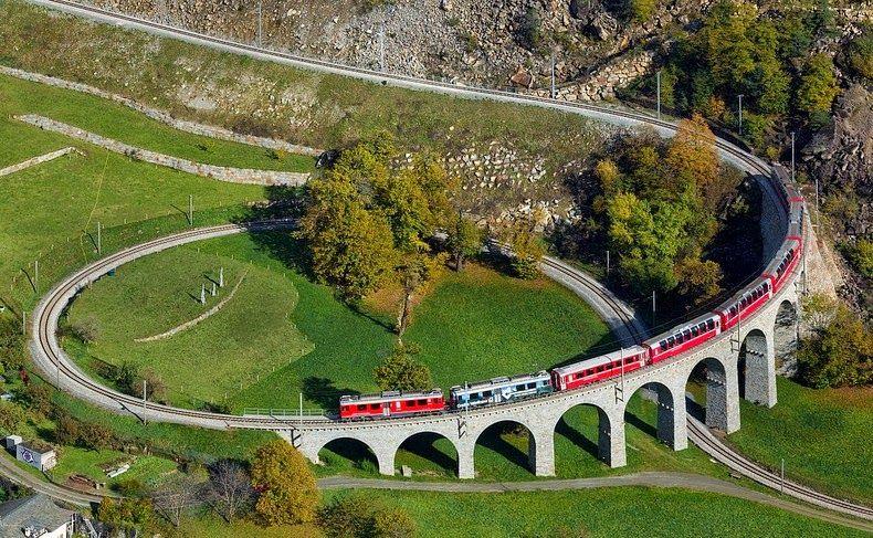 Viadukt Brusio