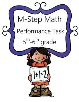 This is a math performance task based on the Michigan M-Step state test. Students will be going on a trip to the adventure park and calculating expenses of that trip.  Like this product? Follow me to see new products before others. Look just below the Add to Cart button at the Made by The Teaching Twins.