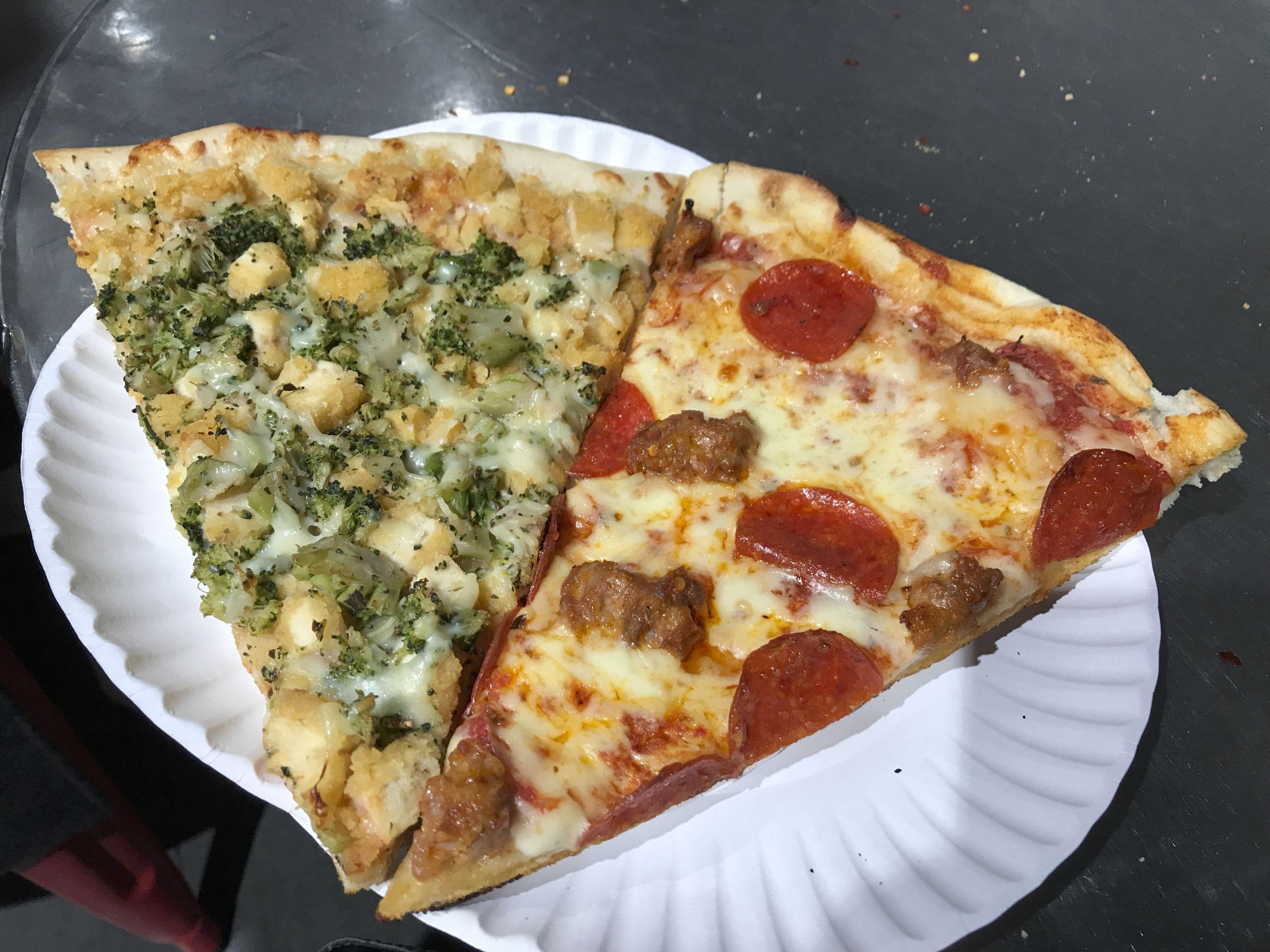 Slice Slice Baby 2 Bros Pizza In New York City New York New York Pizza Delicious Pizza Pizza