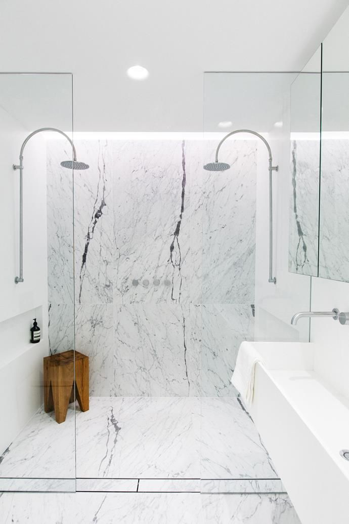 All White: Sophisticated Kitchens and Bathrooms | Neal\'s bathroom ...