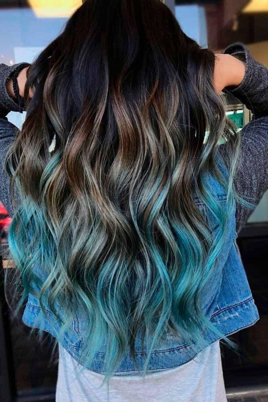 Ombre Haarfarben