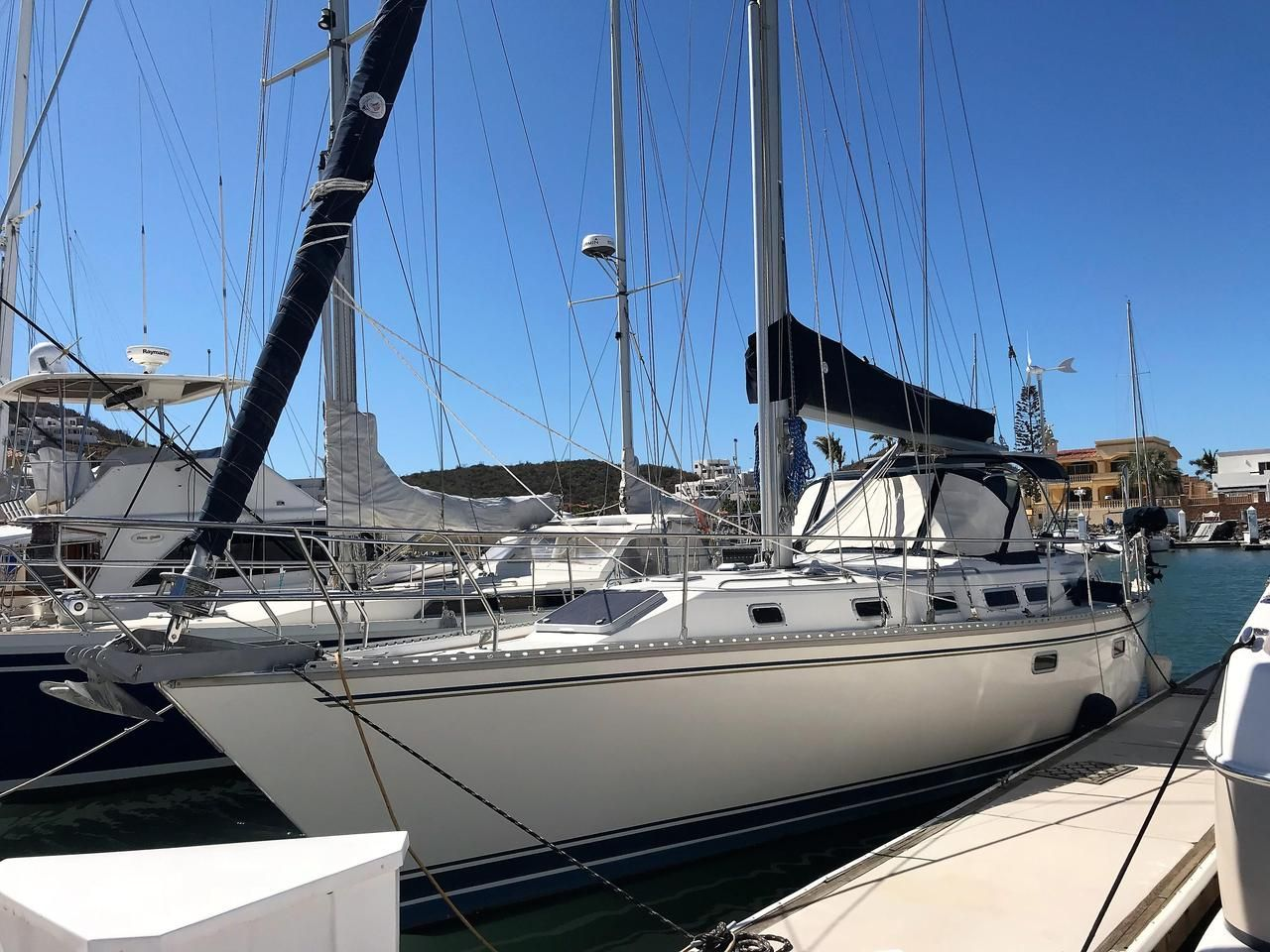 Used Sailboats For Sale >> 1991 45 Used Catalina Morgan Cc Cruiser Sailboat For Sale