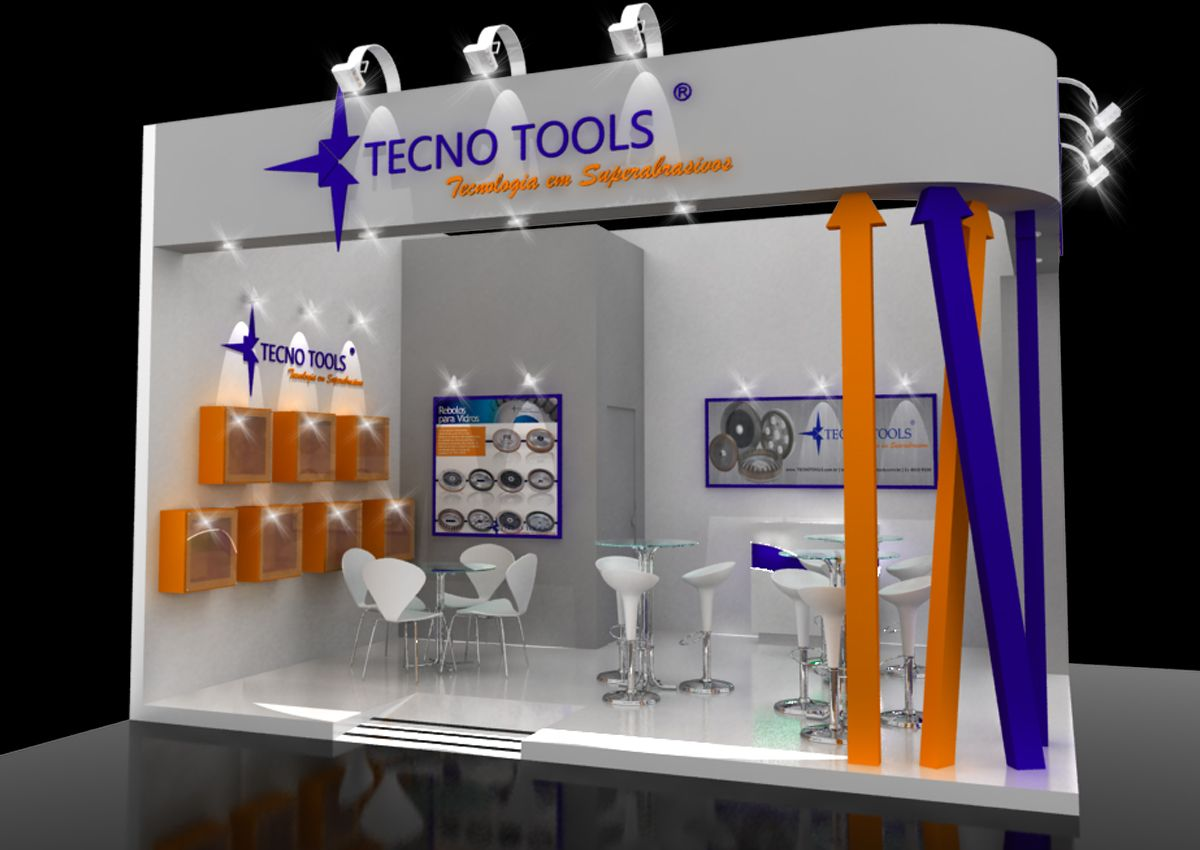 Tecno Tools - Fimma 2015 | Stands desenvolvidos por Michelle Assenhaimer