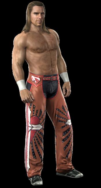Shawn Michaels White Attire
