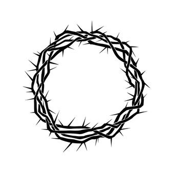 Cristo Fotos Y Vectores Gratis Corona De Espinas Coronas Manos Dibujo