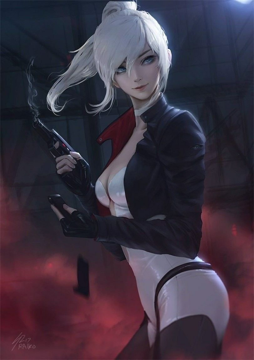 cool scifi gun | fantasy : character | pinterest | anime, guns and