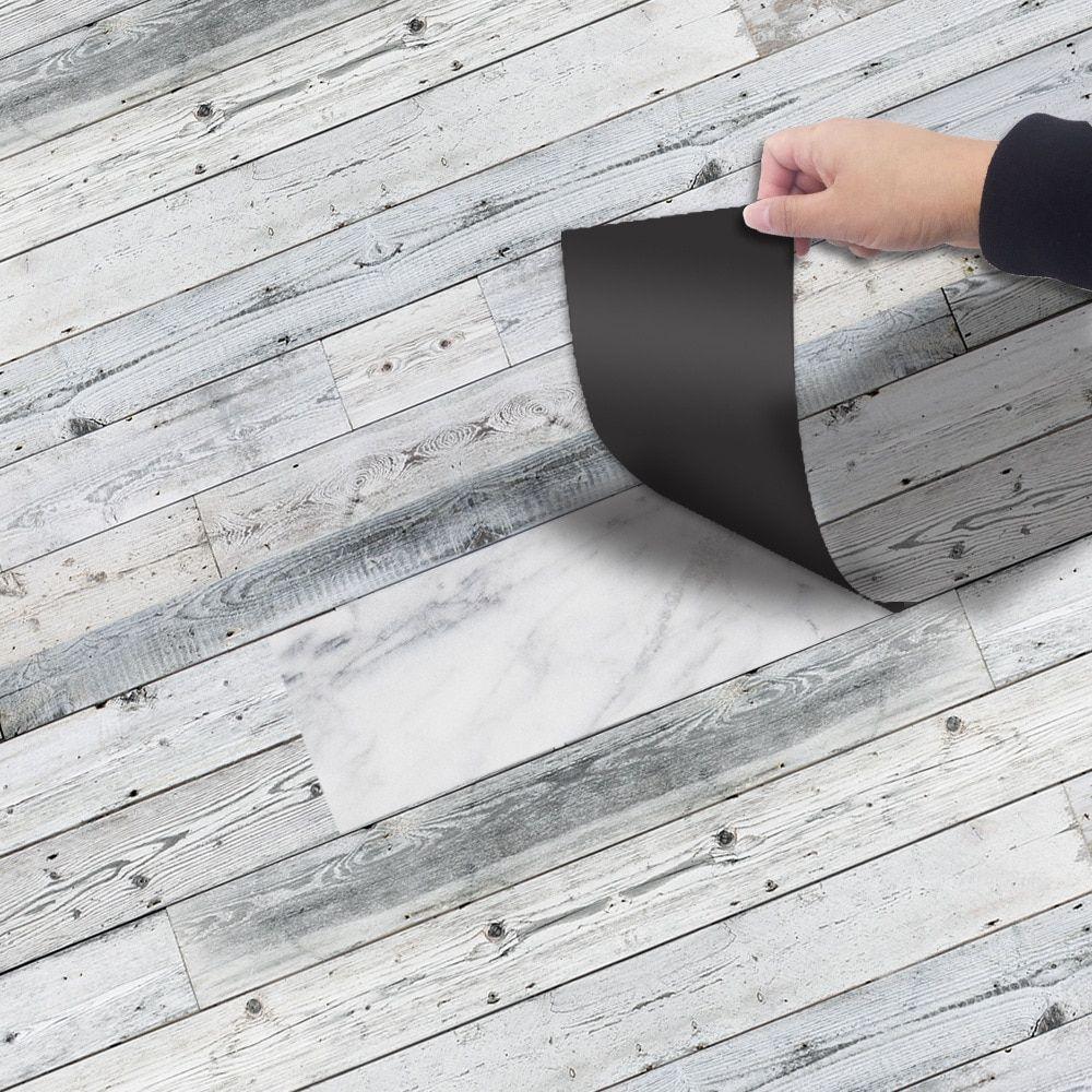 Wood Grain Floor Tiles Plank Sticker Diy Pvc Self Adhesive Waterproof Floor Sticker Kitchen Home Decor On The Wall And Floor Self Adhesive Floor Tiles Adhesive Floor Tiles Pvc Flooring [ 1000 x 1000 Pixel ]