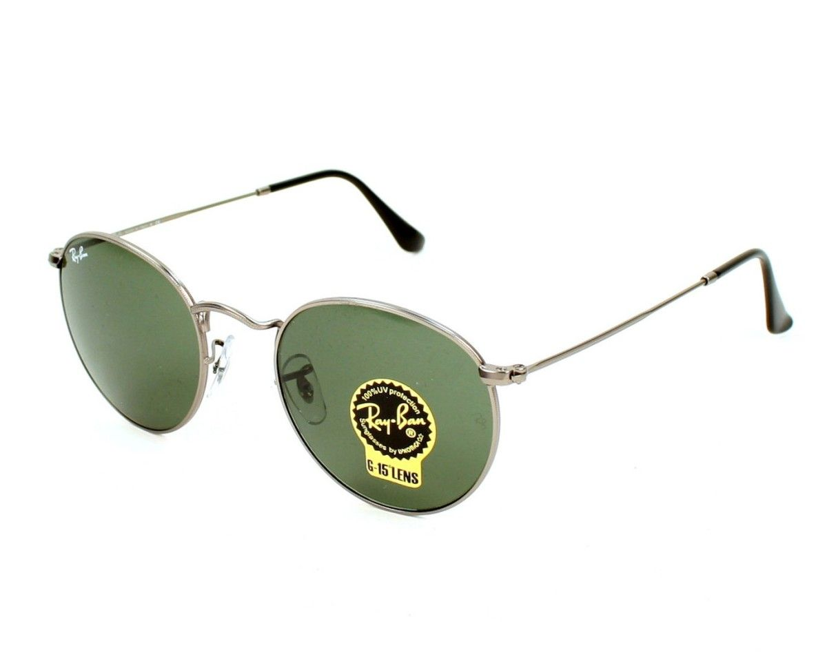 fb9b352f15 ... promo code for lunettes de soleil ray ban rb3447 round metal 029 taille  47 b2acf a364c