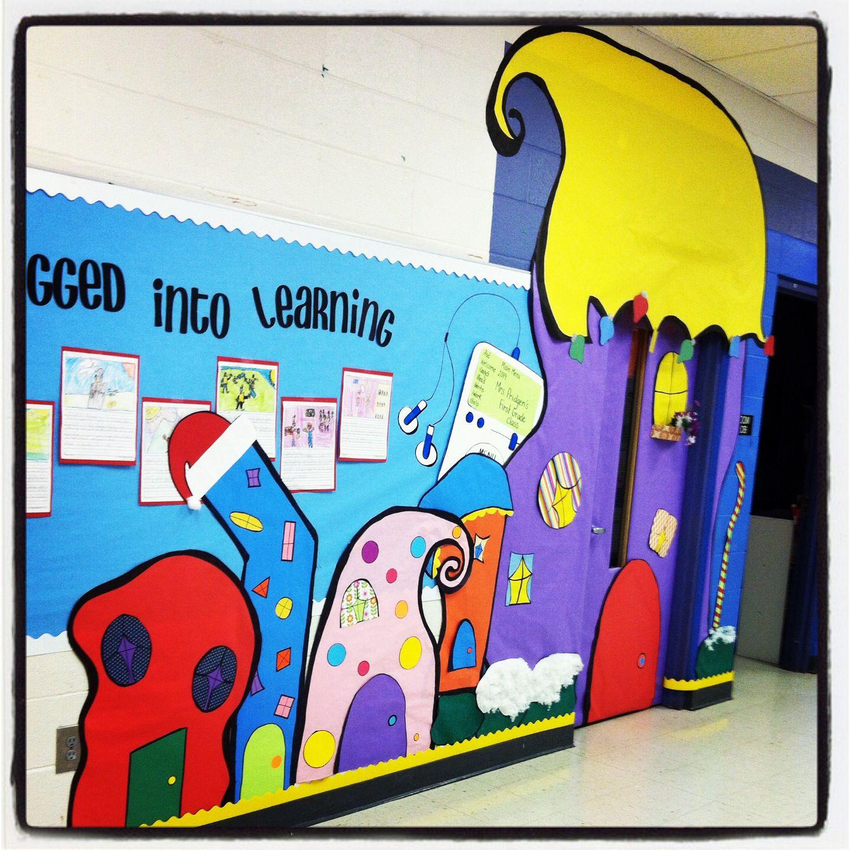 My Classroom Door! Whoville!