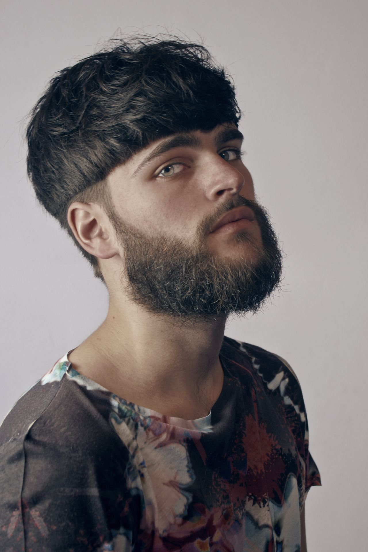 Bowl cut haircut men raul arzate arzateloop on pinterest