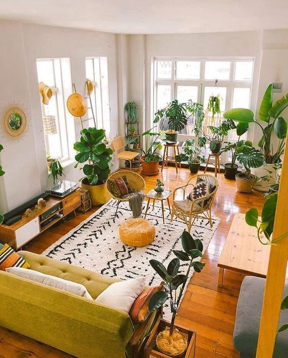 How To Create A Scandinavian + Bohemian Living Room – The Mood Palette