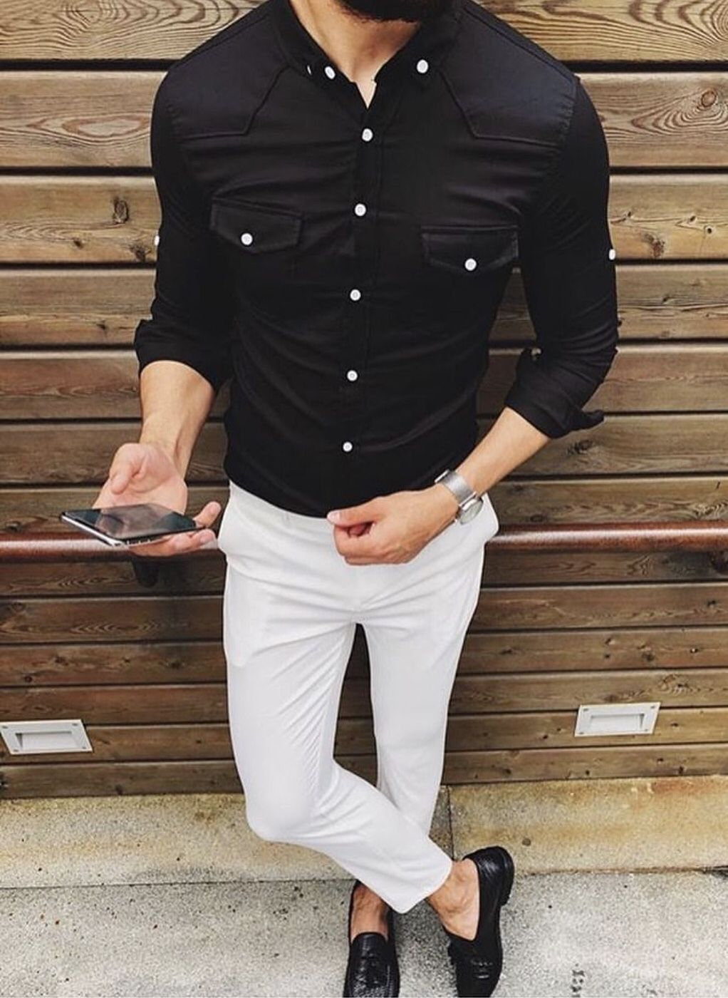 Custom Shirts | Mens dress shirts outfit, Mens shirt dress, Black button  down shirt