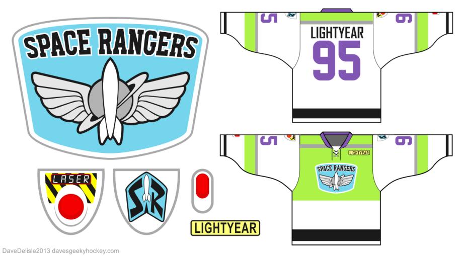 Toy Story Dave S Geeky Hockey Buzz Lightyear Lightyears Logo Facebook